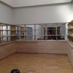 Shelf fabrication and installation for Whitechapel Gallery 2013